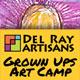 Grown up art camp