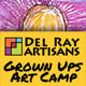 Grown up art camp