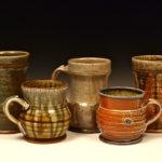 Ceramic mugs by Dan Finnegan