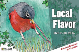 "Help Submitting Artwork to the ""Local Flavor"" Exhibit @ Del Ray Artisans Gallery 