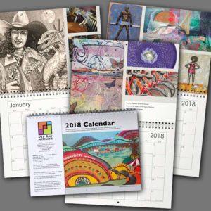 Pre-order Del Ray Artisans 2018 Wall Calendar Deadline