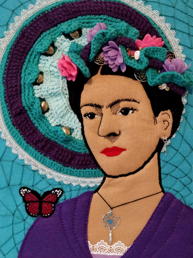Dream Weaver Frida by Dawn Wyse Hurto and Liz Martinez