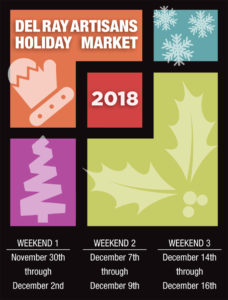 Del Ray Artisans Holiday Market 2018
