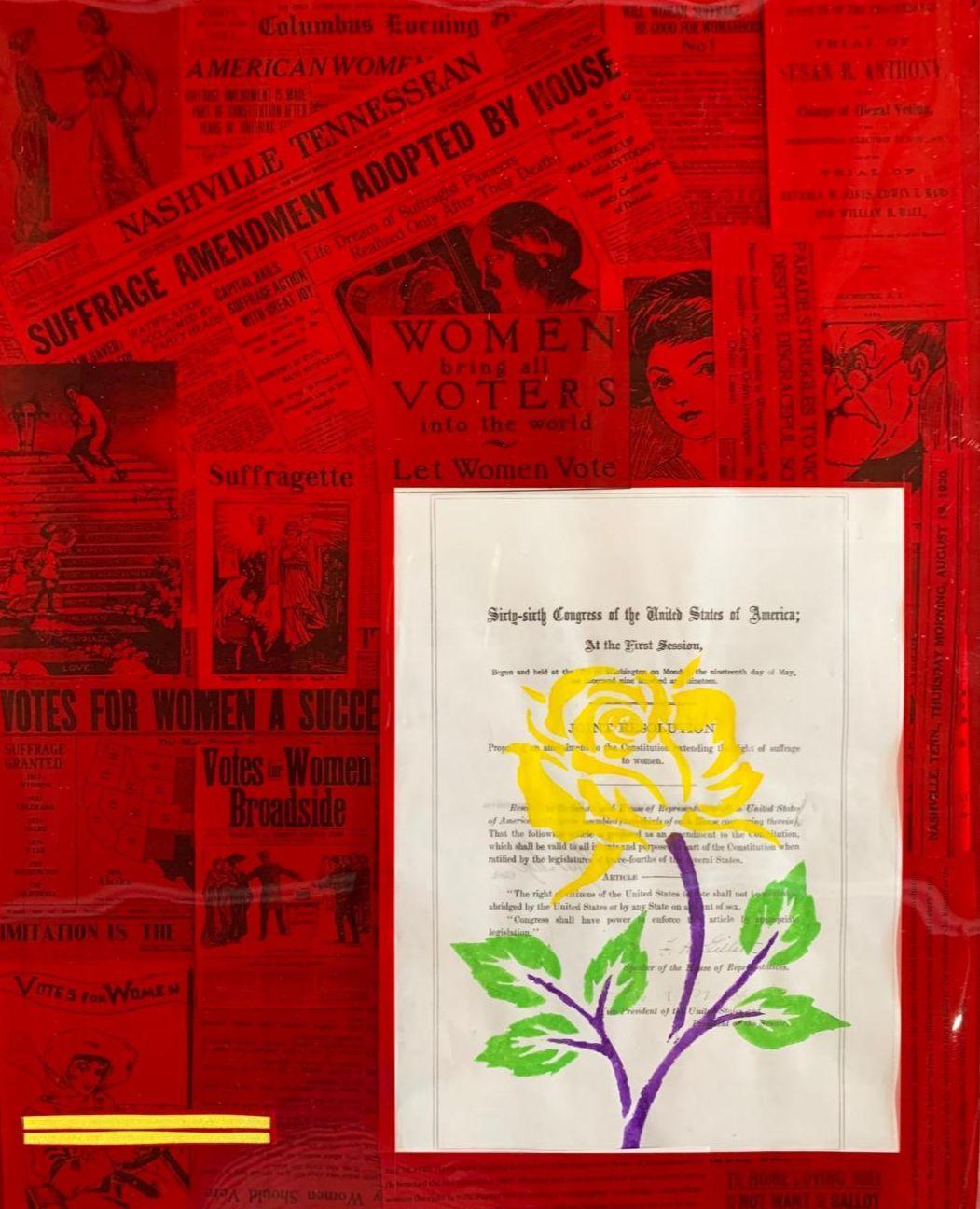 19th Amendment, The War of the Roses Art Exhibit